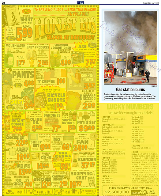 TORONTO SUN June 7, 2009