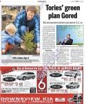 GO GREEN! Toronto Sun April 29, 2007